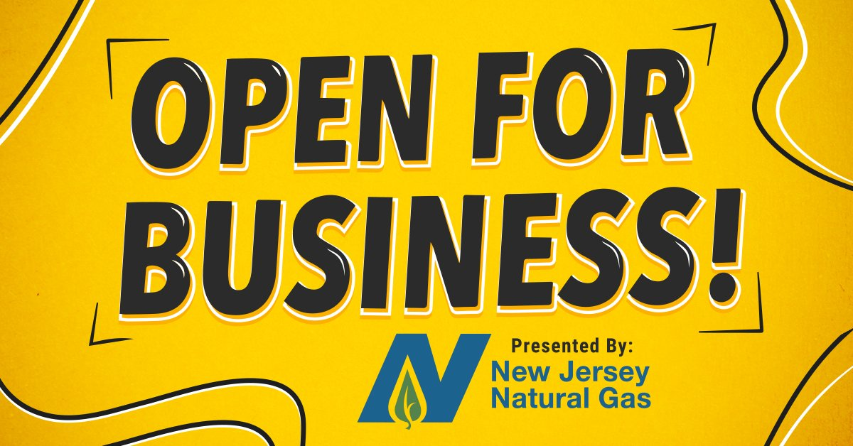 """""""Open for Business"""" presented by New Jersey Natural Gas"""