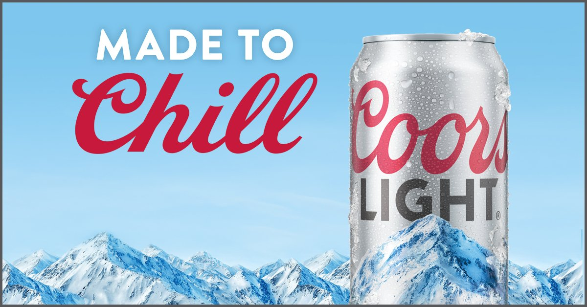 'Coors Light Chill Zone' Prize Pack