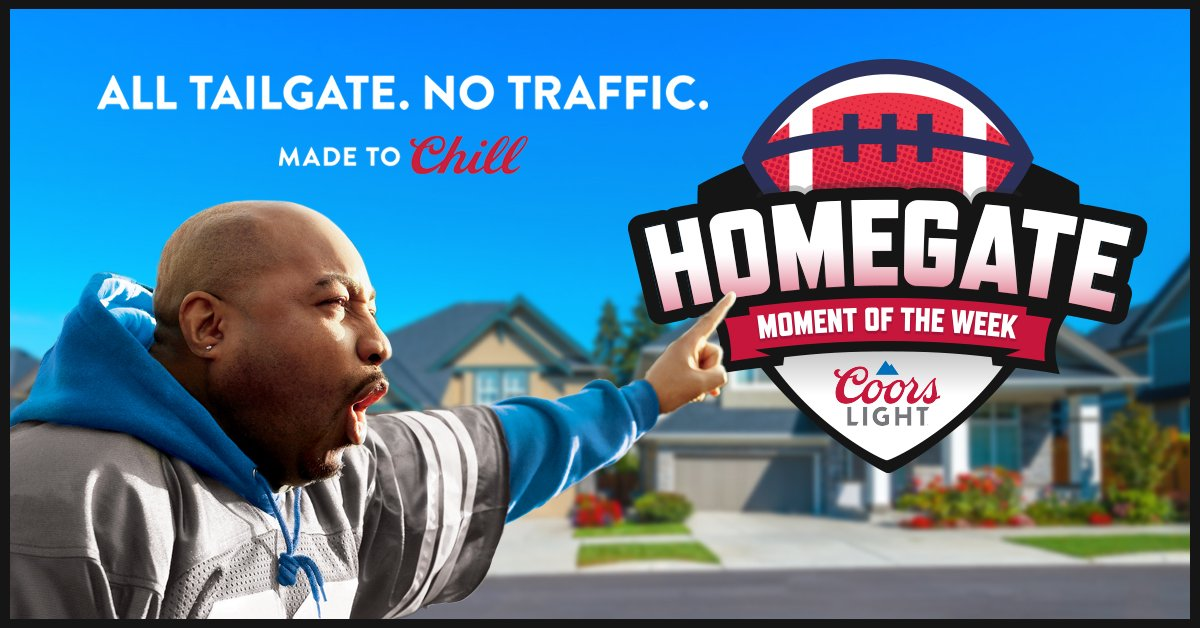 """Coors Light """"Homegate Moment of the Week"""""""