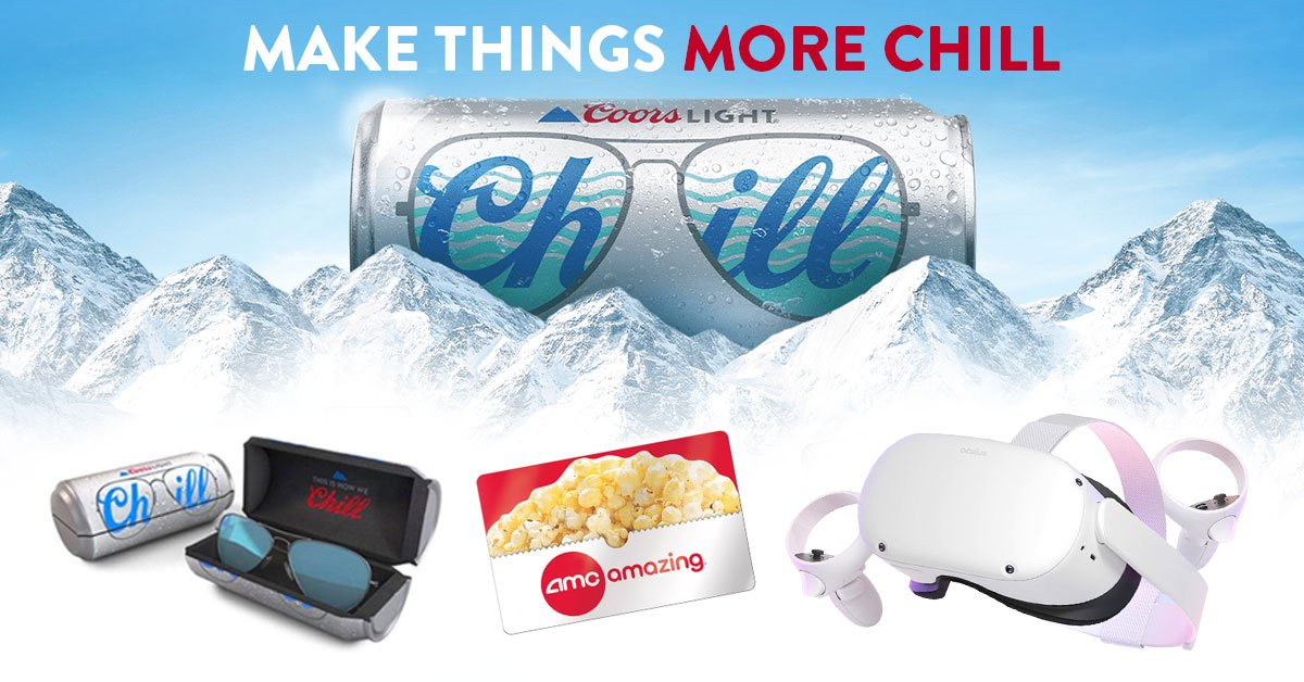 Coors Light: Make Things More Chill