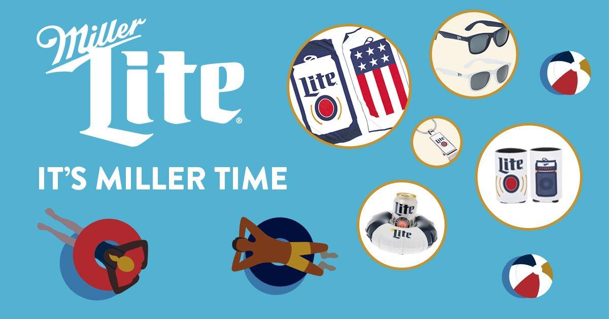 It's Miller Time: Summer Prize Pack