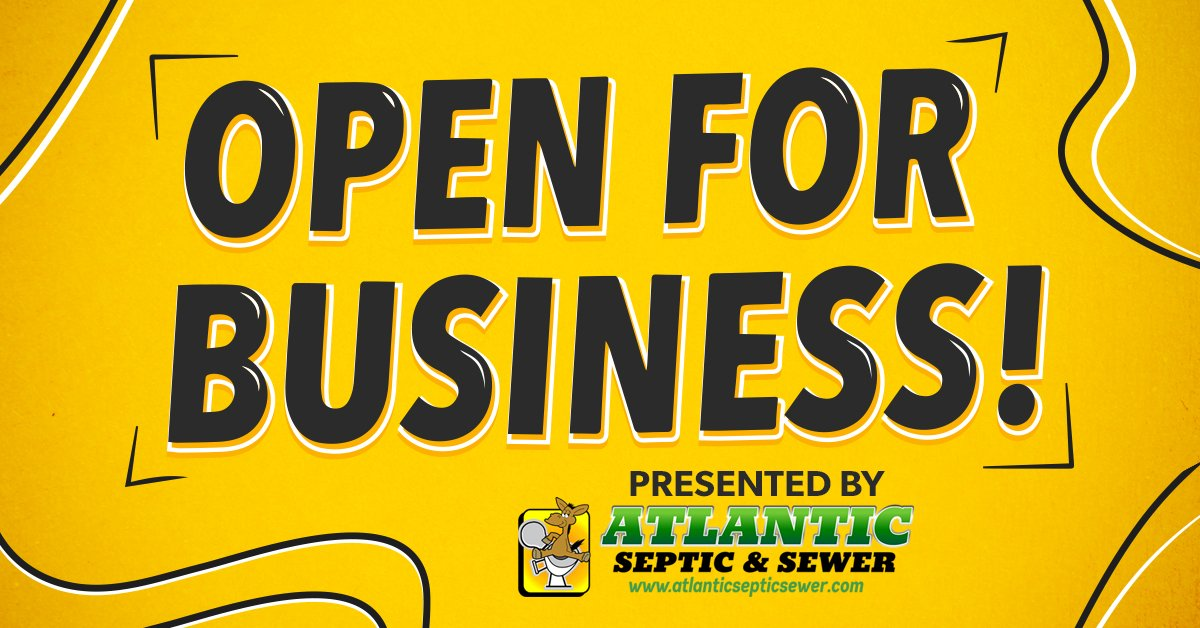 Thunder 106 'Open for Business' presented by Atlantic Septic & Sewer