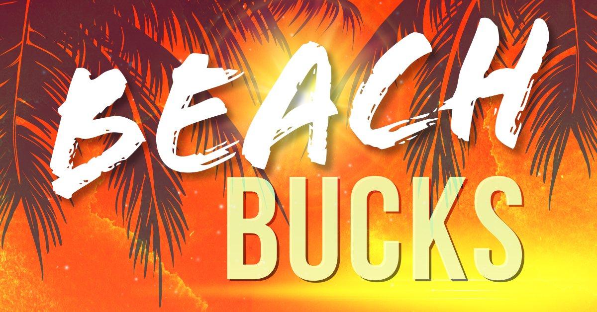 Thunder 106 Beach Bucks